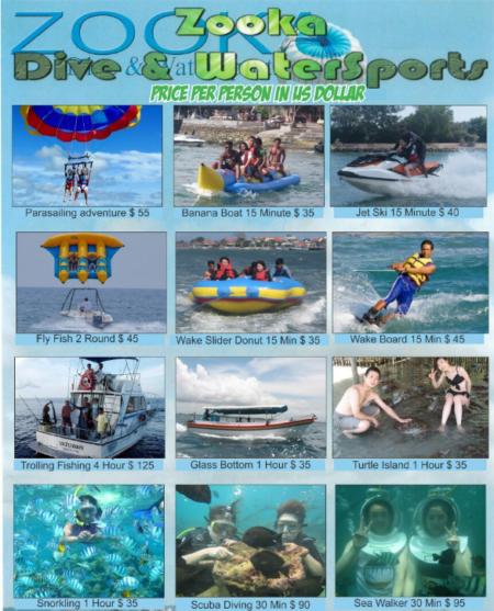 Daftar Harga Paket Rafting di Bali