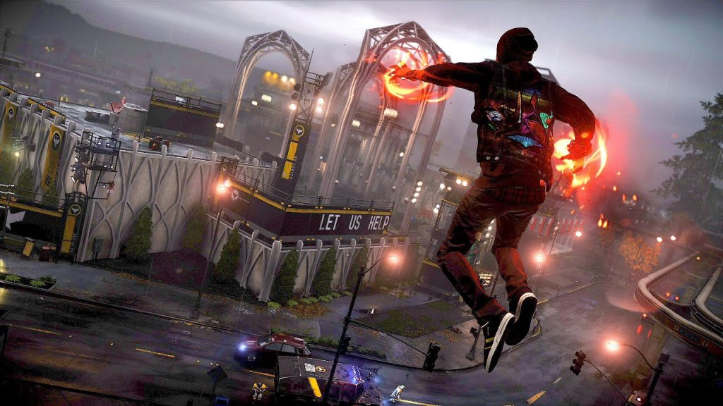 Review Game PS4 Infamous: Second Son