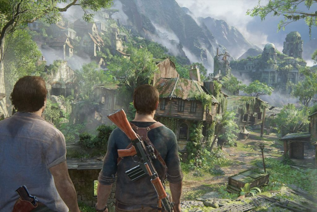 Living Atmosphere of Uncharted 4: A Thief's End Game PS 4