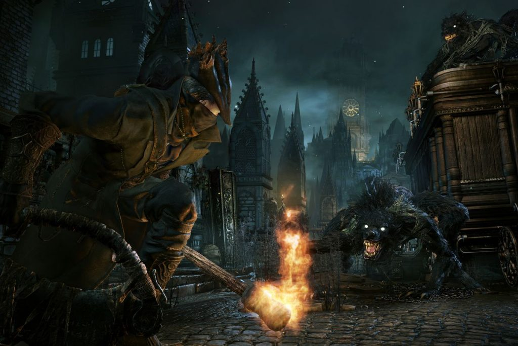 Review Bloodborne Game PS4 About The Stunning Graphic Visuals