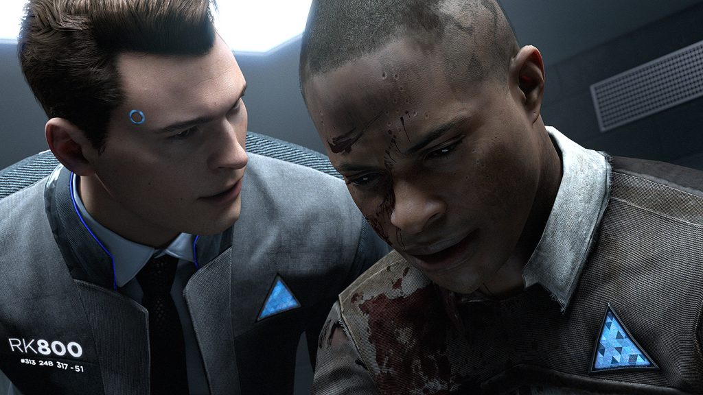 Review Game PS4 - Detroit Become Human Adventure Game
