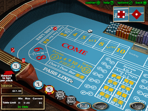 Strategy To Play Craps At Online Casino